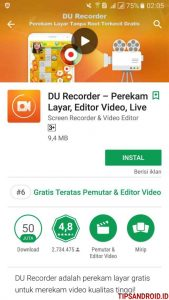 Merekam Video Call Android 1