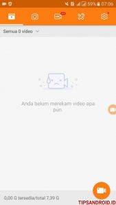 Merekam Video Call Android 2