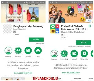 Cara Edit Background Latar Foto Super Cepat di HP Android 1