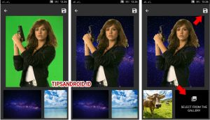 Cara Edit Background Latar Foto Super Cepat di HP Android 12
