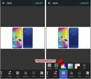 Cara Edit Background Latar Foto Super Cepat di HP Android ...