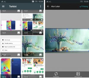 Cara Edit Background Latar Foto Super Cepat di HP Android 7