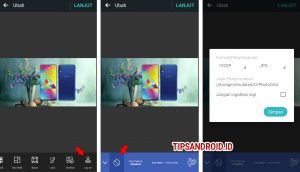 Cara Edit Background Latar Foto Super Cepat di HP Android 9
