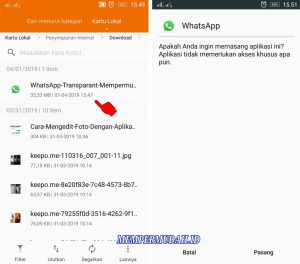 Trik Buat Background Latar WhatsApp Dengan Foto Sendiri di Android 1
