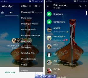 Trik Buat Background Latar WhatsApp Dengan Foto Sendiri di Android 5