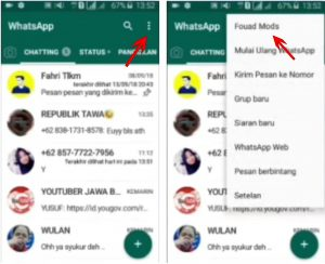 Trik Buat Background Latar WhatsApp Dengan Foto Sendiri di Android 6
