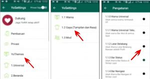 Trik Buat Background Latar WhatsApp Dengan Foto Sendiri di Android 7