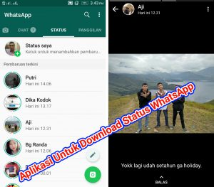 Aplikasi Untuk Download FotoVideo Status WhatsApp Android