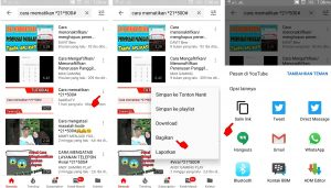 Cara Download Sebagian Waktu Video Youtube via HP Android 3