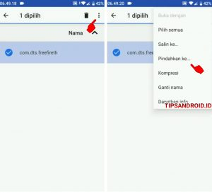 Cara Memindahkan Data Game Free Fire ke OBB di HP Android 4