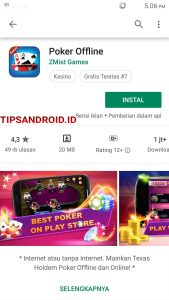 Trik Bermain Game Poker Offline (Tanpa Internet) di HP Android 1