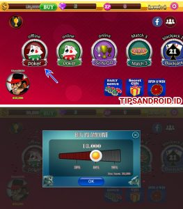 Trik Bermain Game Poker Offline (Tanpa Internet) di HP Android 4