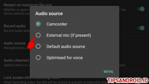 Cara Setting Open Camera Menggunakan Mic External di HP Android 5