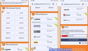 Cara Top Up Call of Duty Mobile di Codashop Android 6
