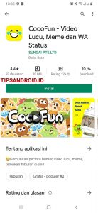 Cara Membagikan Video CocoFun ke Status Whatsapp Android 1