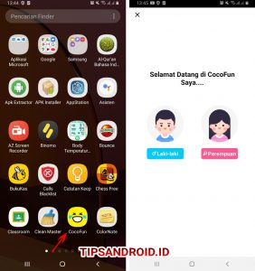 Cara Membagikan Video CocoFun ke Status Whatsapp Android 2