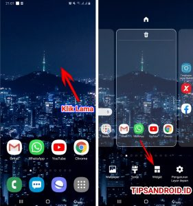 Cara Menampilkan Catatan Melayang di Home Screen HP Android 4