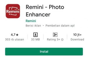 Cara Menggunakan Aplikasi Remini Photo Enhancer di HP Android 1